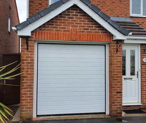 White garage door small new Huddersfield