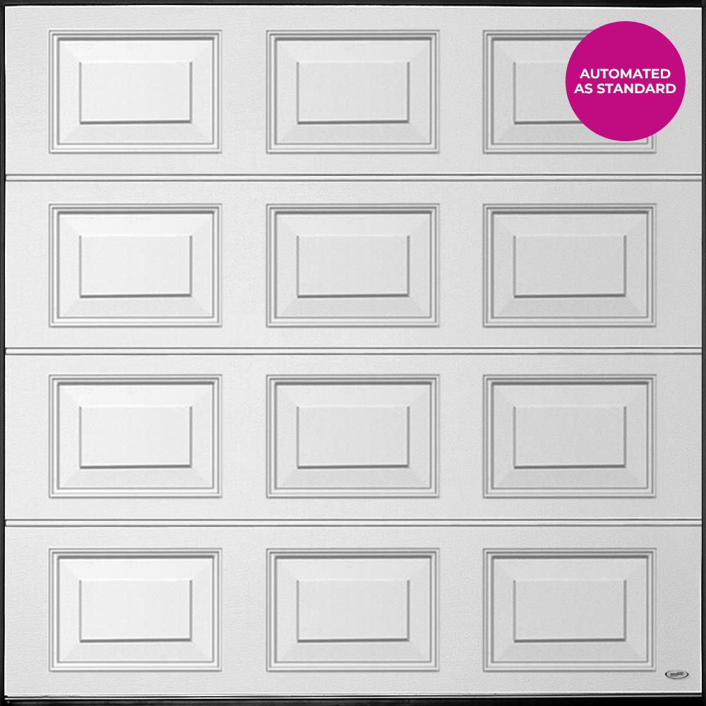 Novaferm Steel Sectional Raised Panel Garage Door - Automated as standard